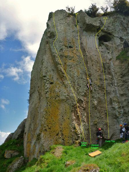 Rock Climbing Photo: Chunderosa Buttress
