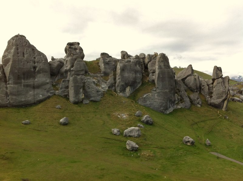 Castle Hill, South Island NZ. A sweet bouldering location.