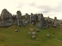 Rock Climbing Photo: Castle Hill, South Island NZ. A sweet bouldering l...