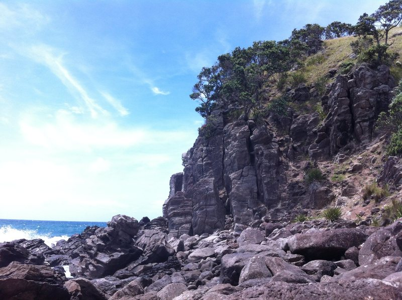 Rock Climbing Photo: Ti Point, Northland, NZ. Photo Credit David McDona...