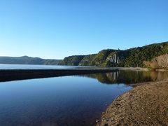 Rock Climbing Photo: Another shameless Whanganui bay scenic shot.