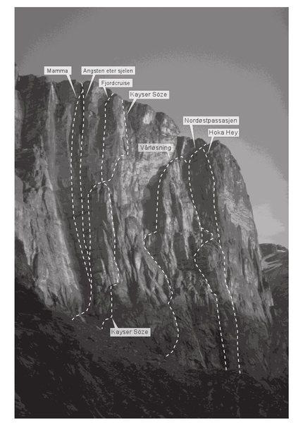 The North Face of Kjerag, plus Hoka Hey