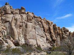 Rock Climbing Photo: AFPA Rock (South Face), Joshua Tree NP