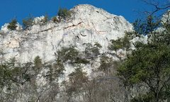 Rock Climbing Photo: Conn's East Direct and Soler Route.