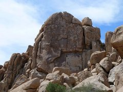 Rock Climbing Photo: The left side of Left Hand of Darkness (E. Face), ...