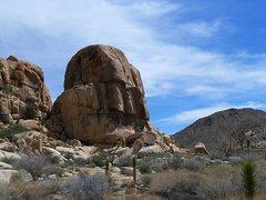 Rock Climbing Photo: Little Rock Candy Mountain, Joshua Tree NP