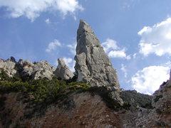 Rock Climbing Photo: Aiguille Galoritze