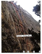 Rock Climbing Photo: The F.Y. Wall is located just up and left of the r...