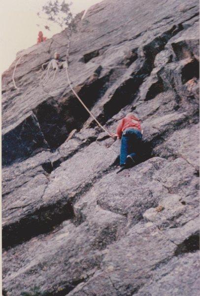 My 3rd rock climb, 1959!