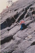 Rock Climbing Photo: My 3rd rock climb, 1959!