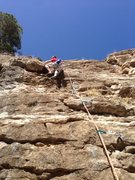 Rock Climbing Photo: A Lil 5.7+ we just put up!!