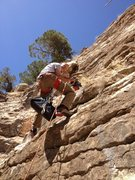 Rock Climbing Photo: Setting the route