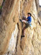 Rock Climbing Photo: Clay Mansfield in the business.