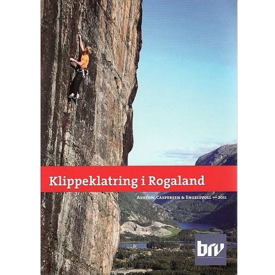 Climbing guide for sport climbs in Rogaland (in Norwegian)