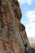 Rock Climbing Photo: Beautiful day to be sick with Christian and Colten...