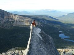 Rock Climbing Photo: Kathadin Summer