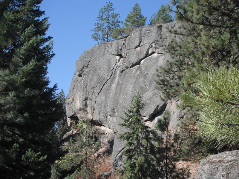 Rock Climbing Photo: Upper Main Wall