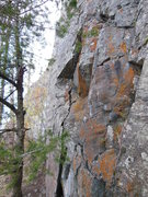 Rock Climbing Photo: Seamstress