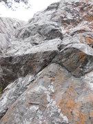 Rock Climbing Photo: Lichen in my Eye
