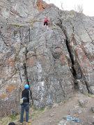 Rock Climbing Photo: Sod Wrestler