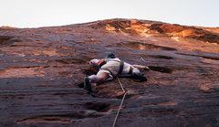 Rock Climbing Photo: Bob on Fools Gold