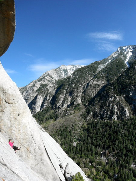 Rock Climbing Photo: That's one way to do it...