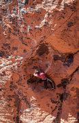 Rock Climbing Photo: Steve toproping April Fools