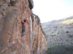 Rock Climbing Photo: Clay Mansfield sending.