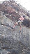 Rock Climbing Photo: First 5.12 climb