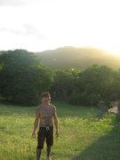 Rock Climbing Photo: a walk in the heat!