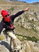 Rock Climbing Photo: HIS NAME!