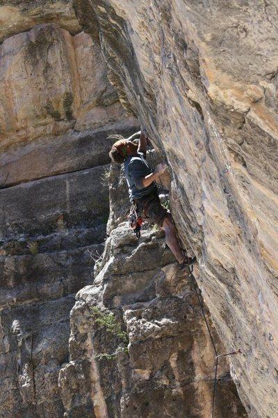 """Rock Climbing Photo: """"Gods walk among us"""" 12.b"""
