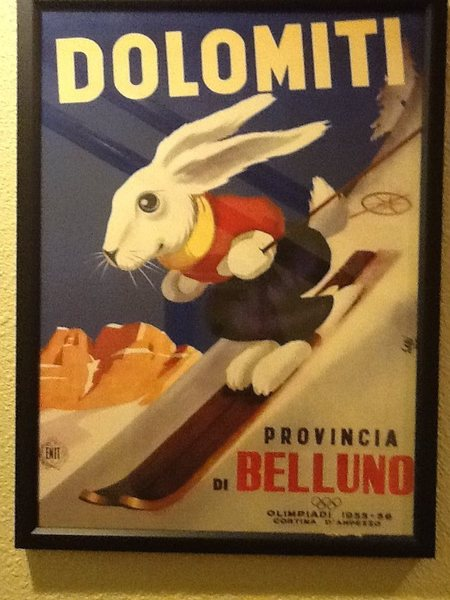 The original ski bunny