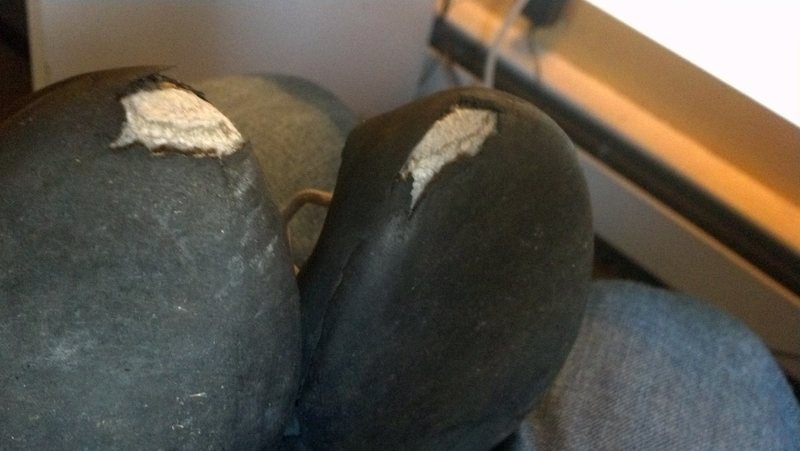 Rock Climbing Photo: Is it too early for a resole?