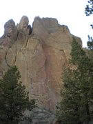 Rock Climbing Photo: Zebra Zion  5.10b line (about 350 feet of vertical...