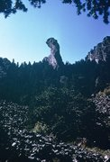 Rock Climbing Photo: Another view of the formation from approach to N. ...