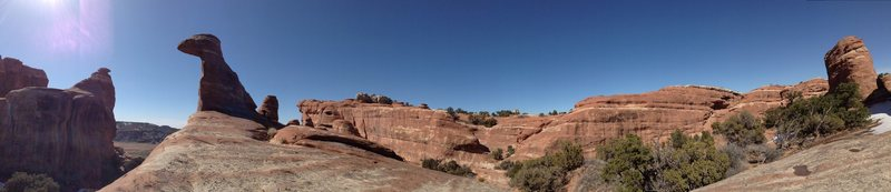 Rock Climbing Photo: solar slabs, moab