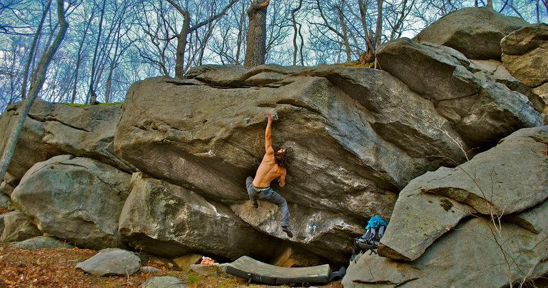 Rock Climbing Photo: CT boulders