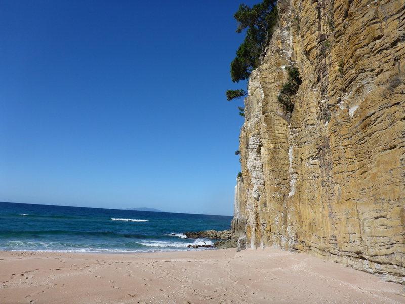 Rock Climbing Photo: Typical Coromandel beach