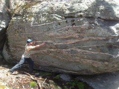 Rock Climbing Photo: Siberian Boulder