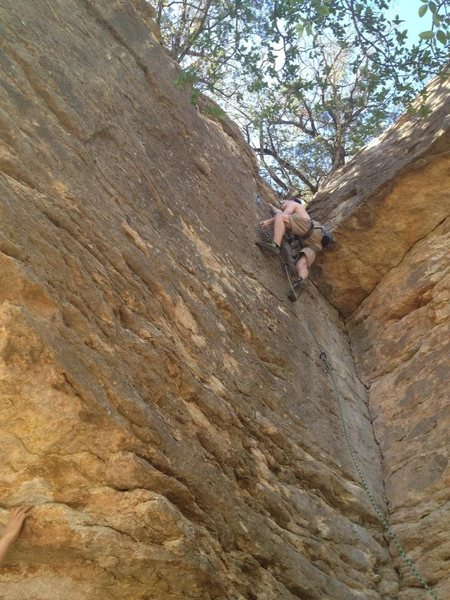 Rock Climbing Photo: Paradise on the Brazos