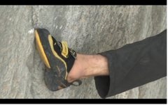 Rock Climbing Photo: yellow sole