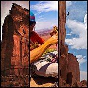 Rock Climbing Photo: i pod mash up