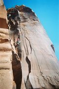 Rock Climbing Photo: mantel illness this route is hard if you are verti...