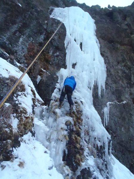 Rock Climbing Photo: Through Four More: December 2011