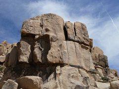 Rock Climbing Photo: Little Rock Candy Mountain (W. Face), Joshua Tree ...