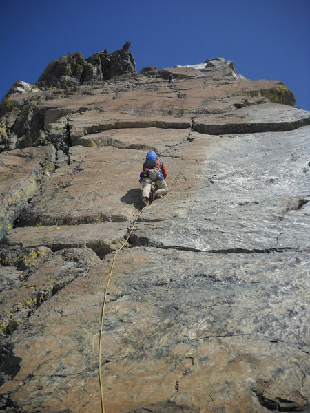 Rock Climbing Photo: Do note that similar to other climbs in the area, ...