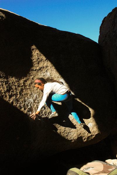 Rock Climbing Photo: the start of French Press