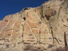 Rock Climbing Photo: Gregory 8 of 17 (22)Big Bill's big Roof .12a (23)F...