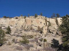 Rock Climbing Photo: RC 1 of 5 (1)Choss Jockey .9 (2)JMR Direct .9 (3)F...